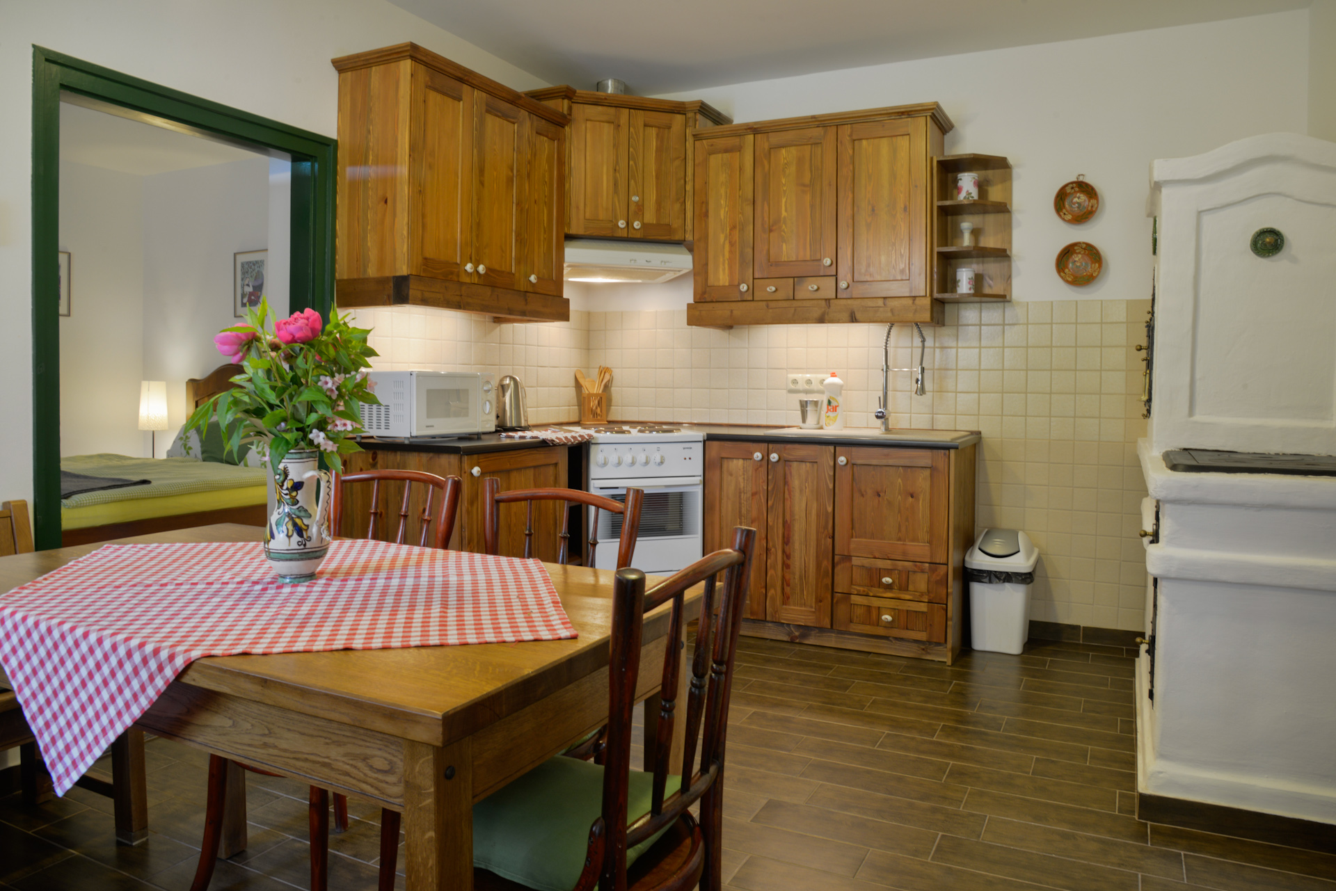Körtefa vendégház konyha/ Pear Tree Cottage kitchen